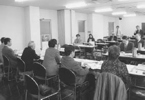 14人が出席して開かれた下京西部医師会との懇談会