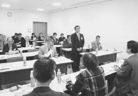 19人が出席して開かれた与謝・北丹医師会との懇談会