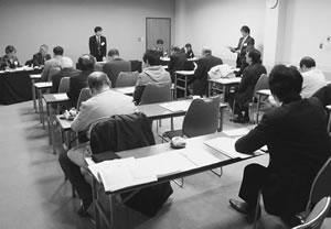 20人が出席して開かれた与謝・北丹医師会との懇談会