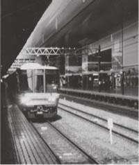 京都駅を新快速で出発