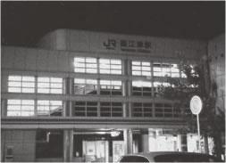 直江津駅に到着