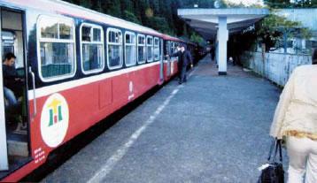 阿里山森林鉄道(祝山駅)